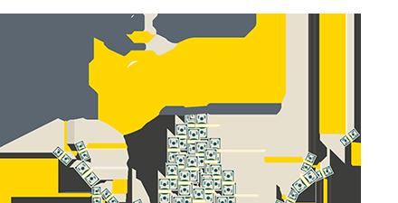 Der Geldhahn ist voll aufgedreht