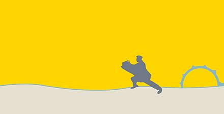 Lever du soleil à l'est